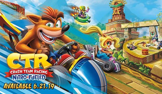 Crash Team Racing Nitro Fueled: El juego de Karts definitivo del marsupial naranja.
