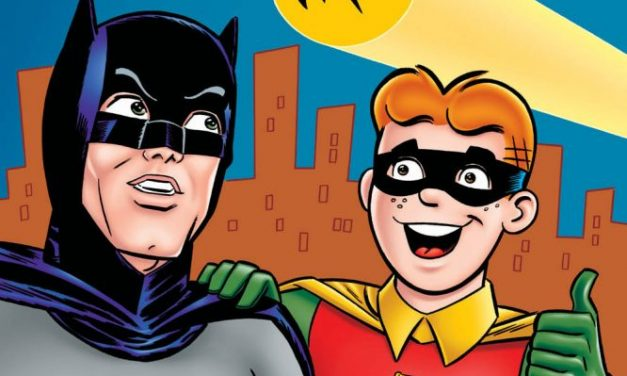 """<span class=""""entry-title-primary"""">Reseña: Archie meets Batman 66 TPB</span> <span class=""""entry-subtitle"""">¡Santos crossovers batman!</span>"""